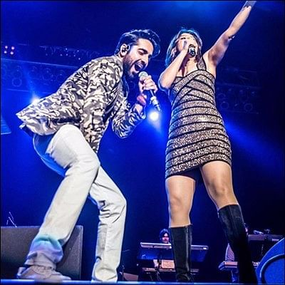 Check out Ayushmann Khurrana and Parineeti Chopra perform a gig in Dallas