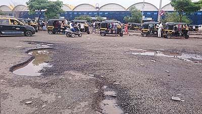 Potholes encircle LTT