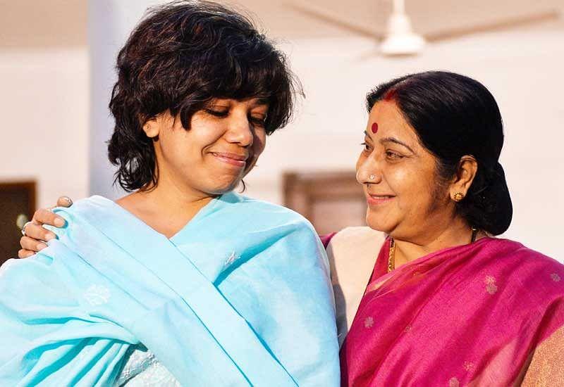 Judith D'Souza back home, thanks Swaraj, PM