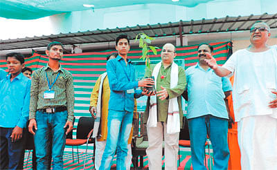 Plantation-cum-plant distribution programme held at Sevadham