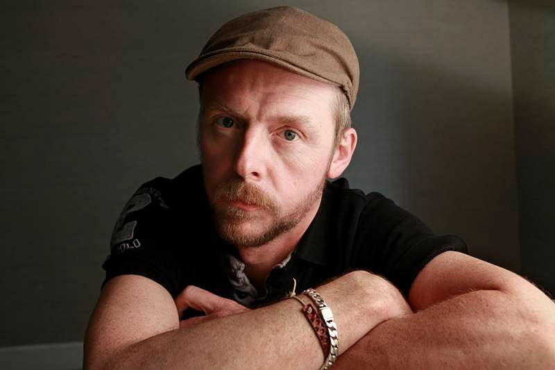 Twitter is a narcissist's help centre, feels Simon Pegg