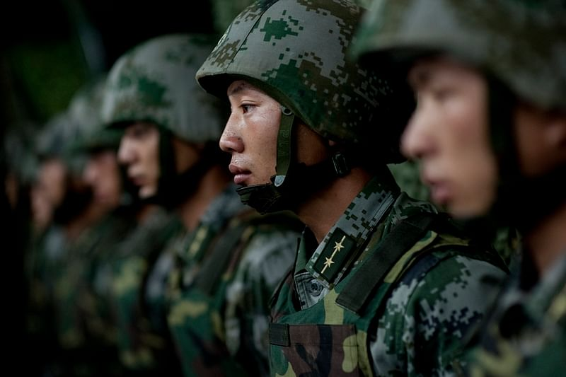 Chinese incursion in U'khand, soldiers spotted