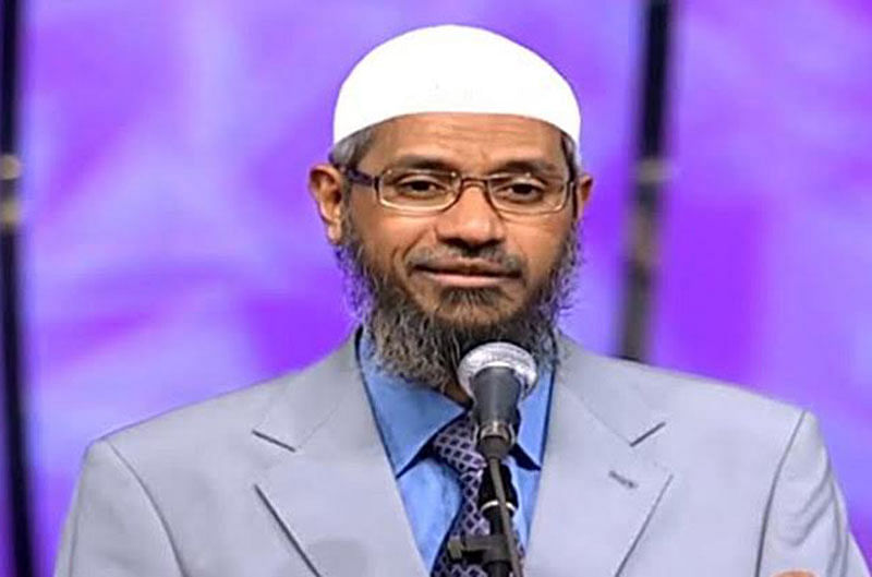 Muslim outfits rally behind Zakir Naik, hold protest
