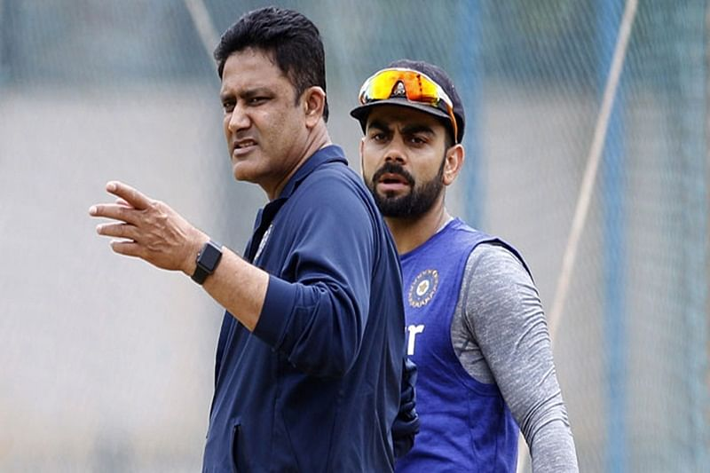 Will never curb Virat's aggression but there's a line: Kumble