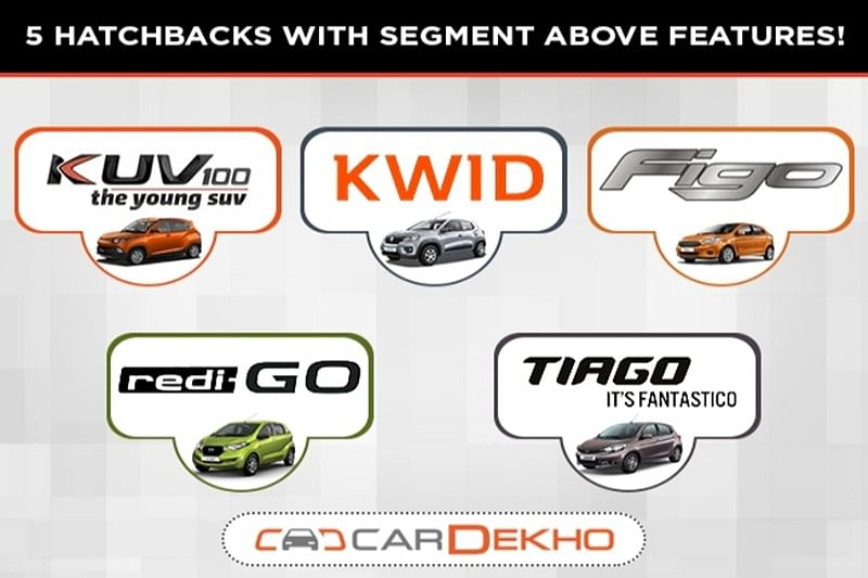 5 Affordable Hatchbacks With Segment – Above Features