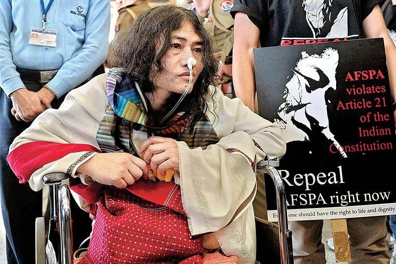 No more on fast, Manipur now shuns Sharmila