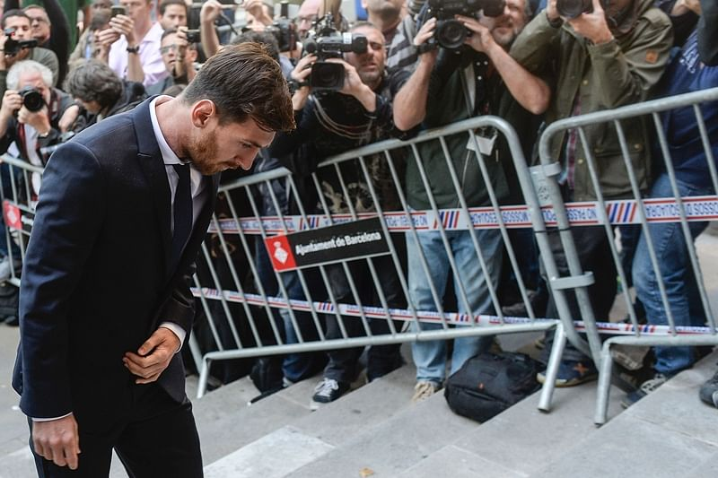 Messi to appeal against 21-month prison term for tax fraud