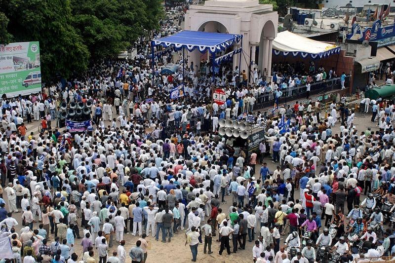 Dalit upheaval sliding down BJP'S chances?
