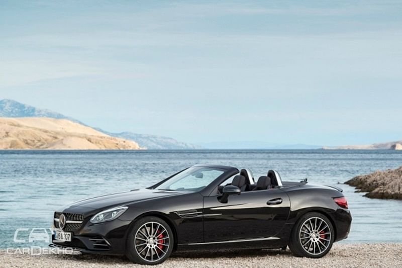 Mercedes-AMG SLC43 India launch tomorrow