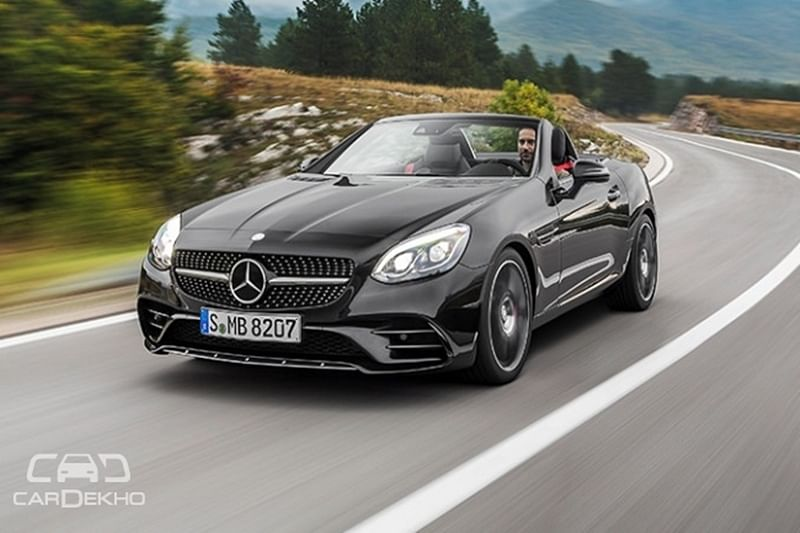 Mercedes-AMG SLC43 launched in India. Priced at Rs 77.5 Lakh