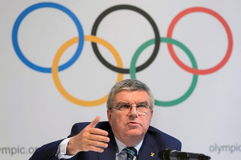 International Olympic Committee (IOC) president Thomas Bach