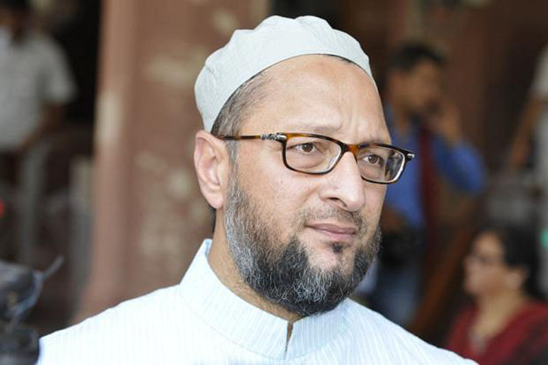 Owaisi dares PM to reveal number of Muslims in central police forces