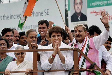 Keeping communal issues alive in UP is Centre's conspiracy: Raj Babbar