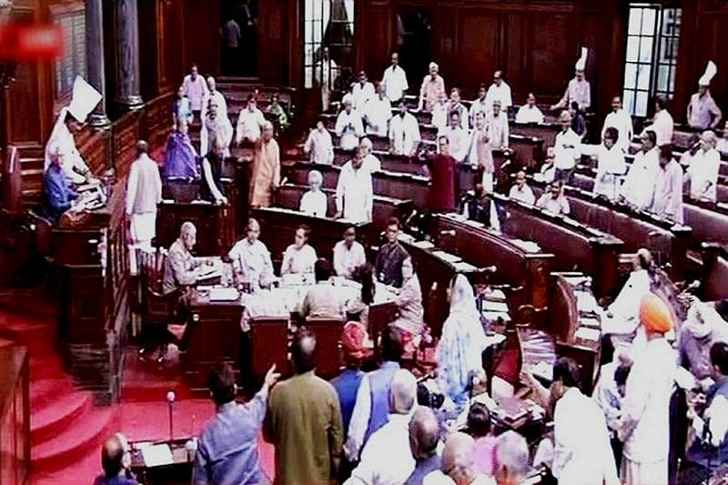 Rajya Sabha disrupted over Bengal army deployment