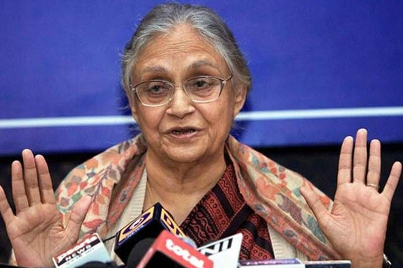 AAP announced free ride scheme for their own benefit, not anybody else's: Sheila Dikshit