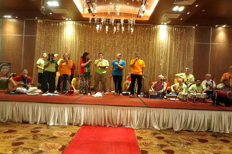 Enjoy Music of Joy at Sahaja Meditation in Vietnam