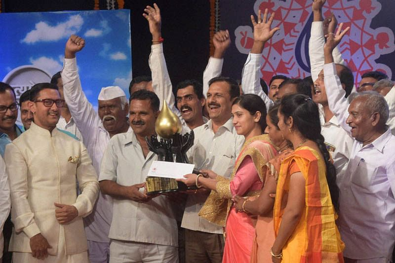 Dream to make Maharashtra drought-free in five years: Aamir