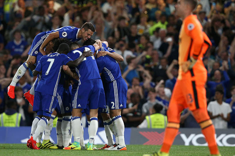 Costa late goal gifts coach Conte win on Chelsea debut