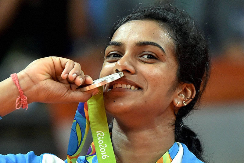 P V Sindhu, Sakshi Malik restoring the pride of India