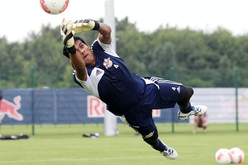 Focused on winning football friendly against Puerto Rico: Subrata Paul