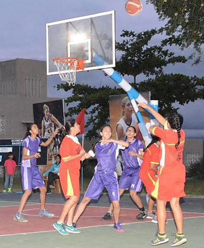 Cathedral in basketball final