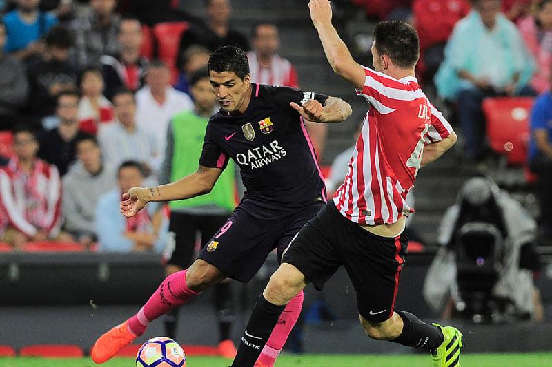 Barcelona edges past Athletic Bilbao