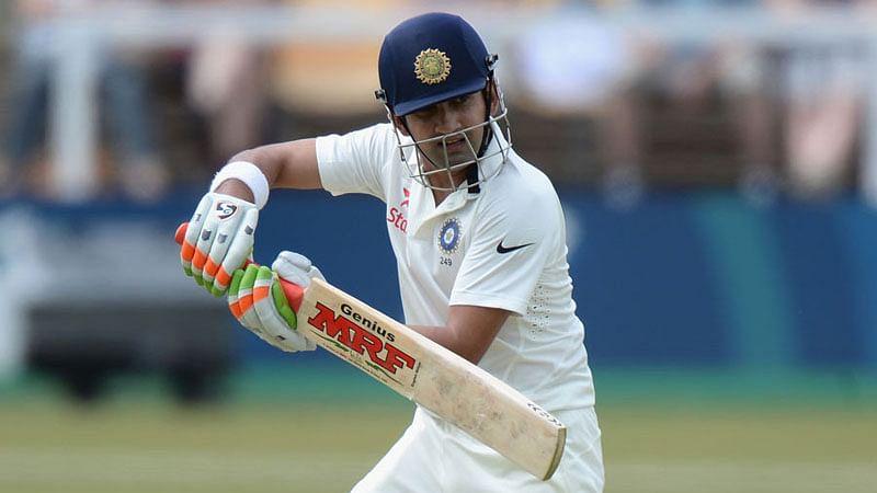 Gautam Gambhir – Mayank Agarwal score 50s