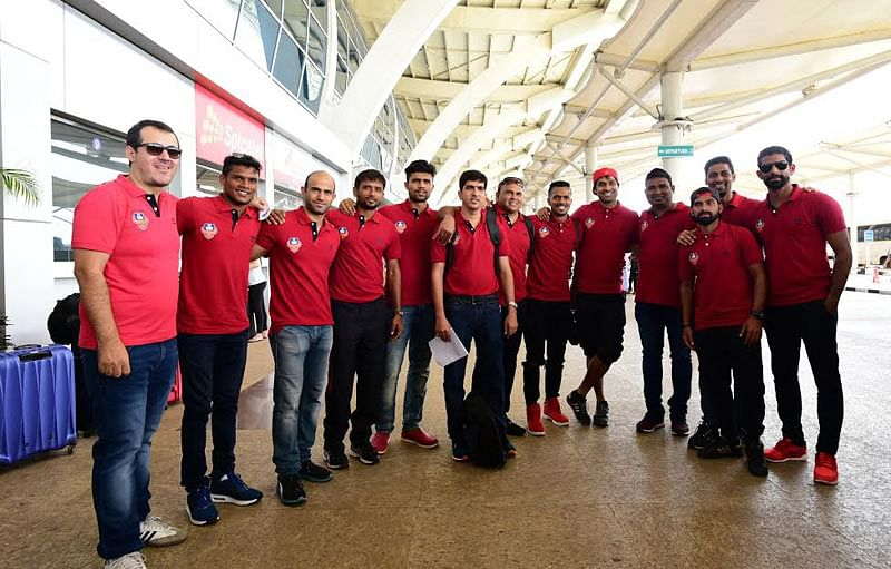 FC Goa team leaves for Brazil