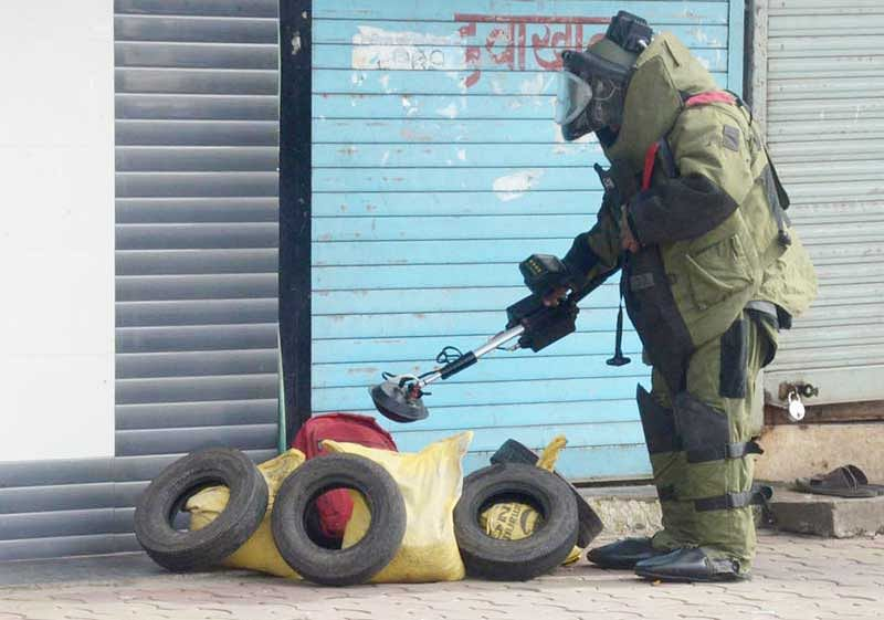 Another bomb found in Manipur after Friday blast