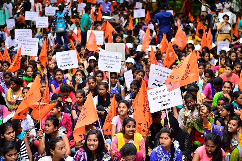 ABVP's rising clout noxious for students