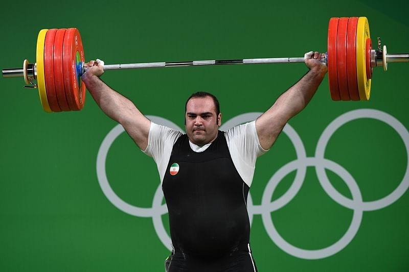 Iranian lifter snatches new world record