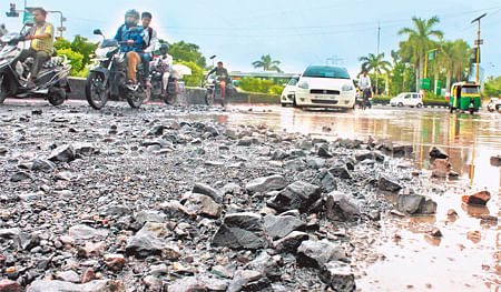 20,000-km roads damaged by rains; repairs may cost Rs 600 cr