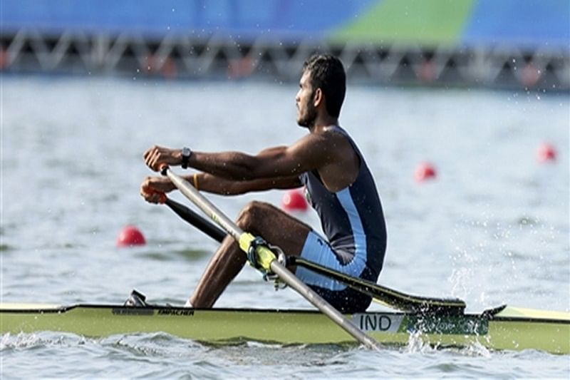 Rower Dattu Bhokanal goes out of medal reckoning