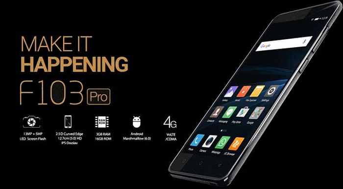 Gionee F103 Pro – Just Decent