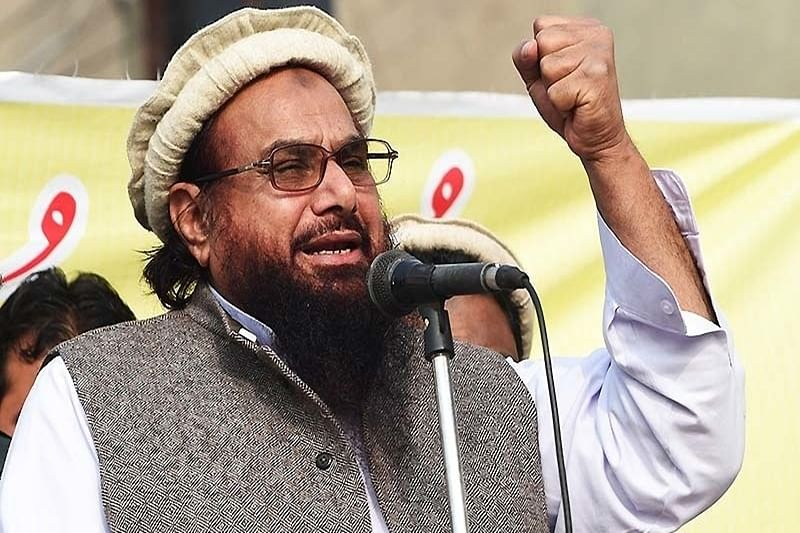 Hafiz Saeed asks Pak military to send troops into Kashmir to teach India lesson