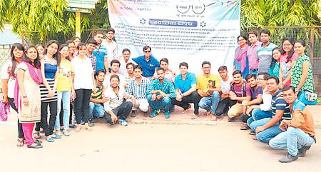Sapling plantation by ICSI city chapter