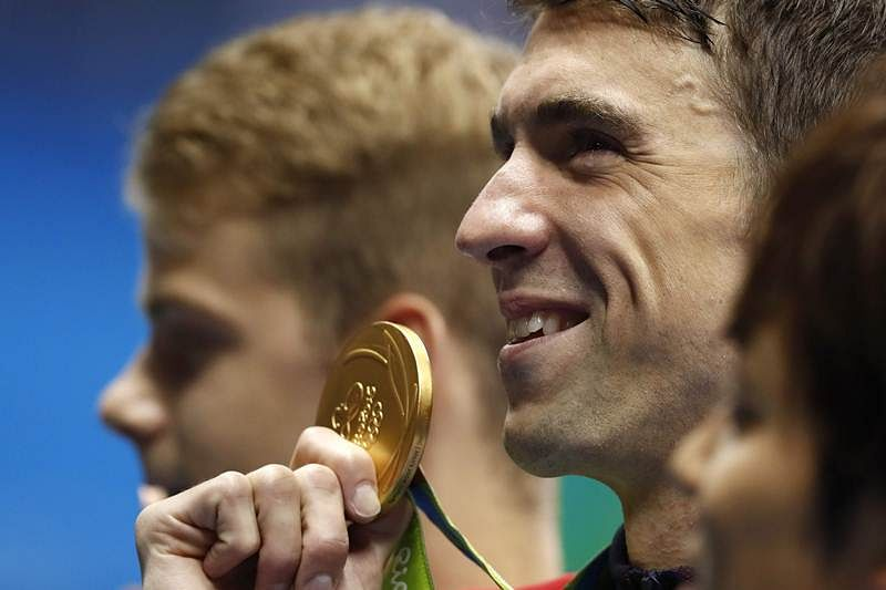 Rio 2016: Olympian swimmer Michael Phelps makes it 21 golds