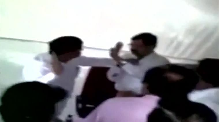 NCP MLA denies slapping official after video goes viral