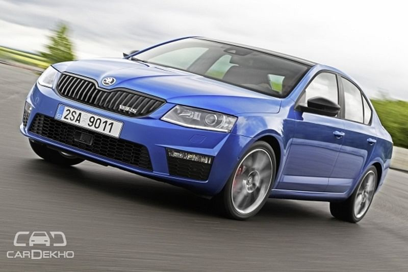 Skoda Octavia vRS To Get Both Diesel And Petrol Options In India