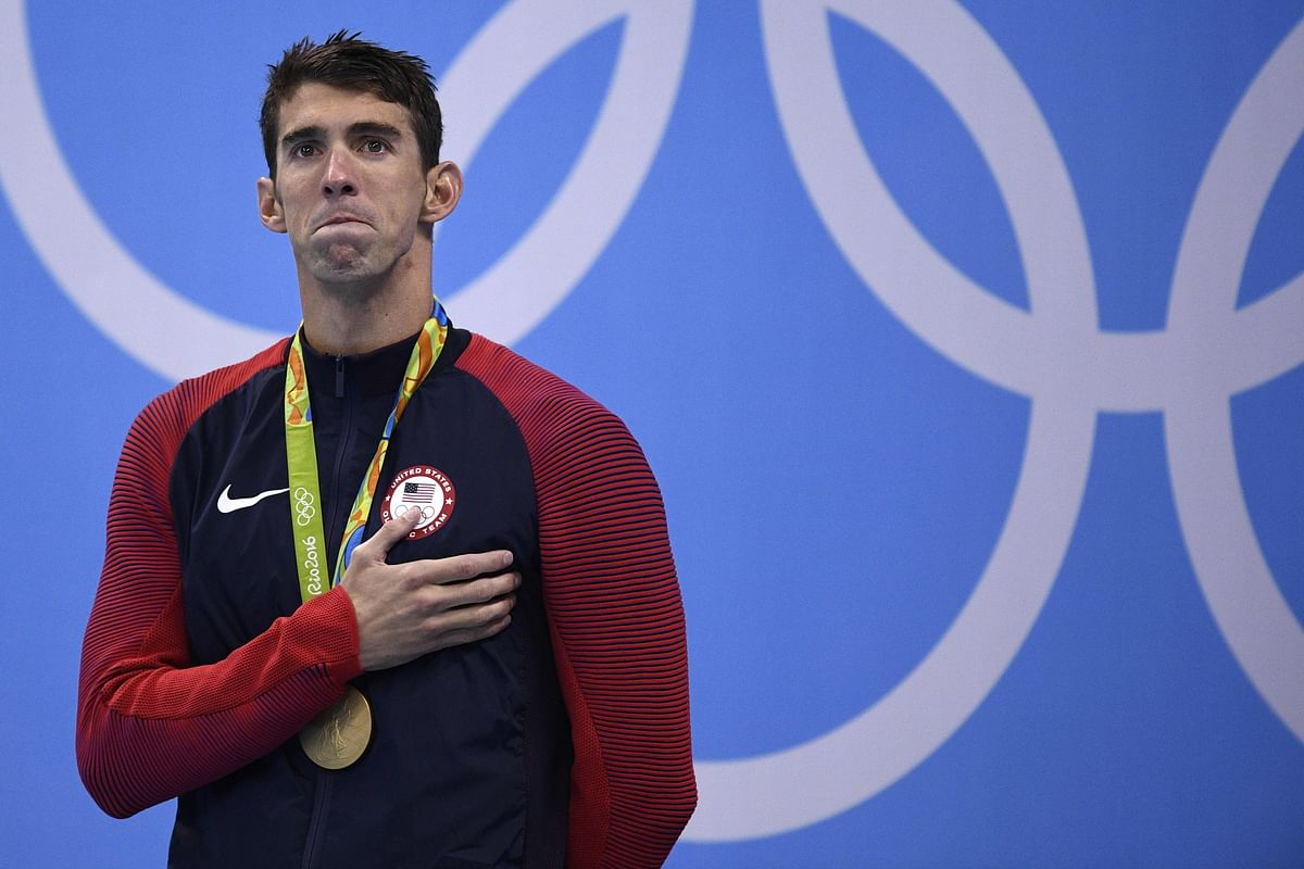 Phelps glad to end career on own terms