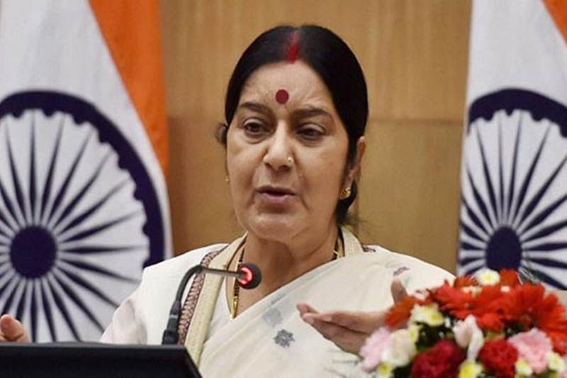 Sushma Swaraj briefs Sonia Gandhi on cross-LoC anti-terror strike