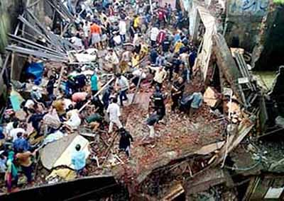 Thane: 9 dead as building collapses in Bhiwandi