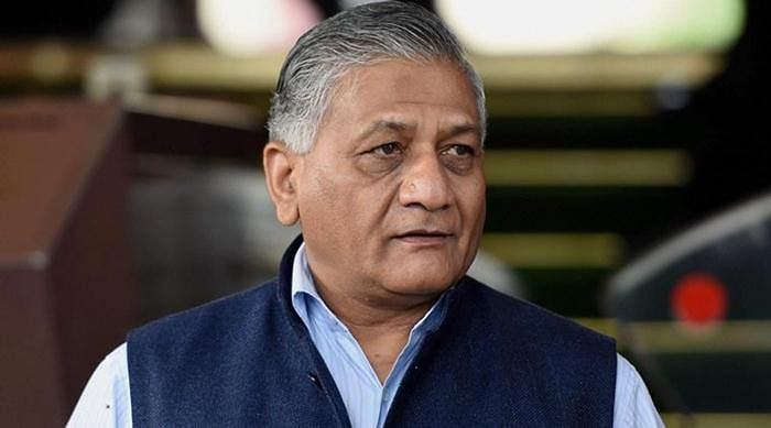 V.K. Singh meets injured BJP leader in Fortis, assures condition is much better