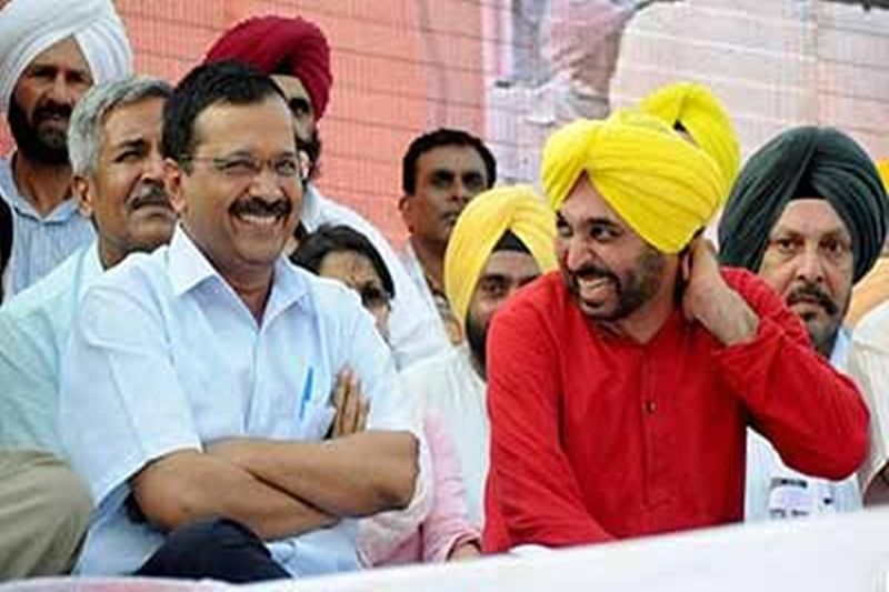 AAP announces first list, Mann named Punjab's campaign committee chairman