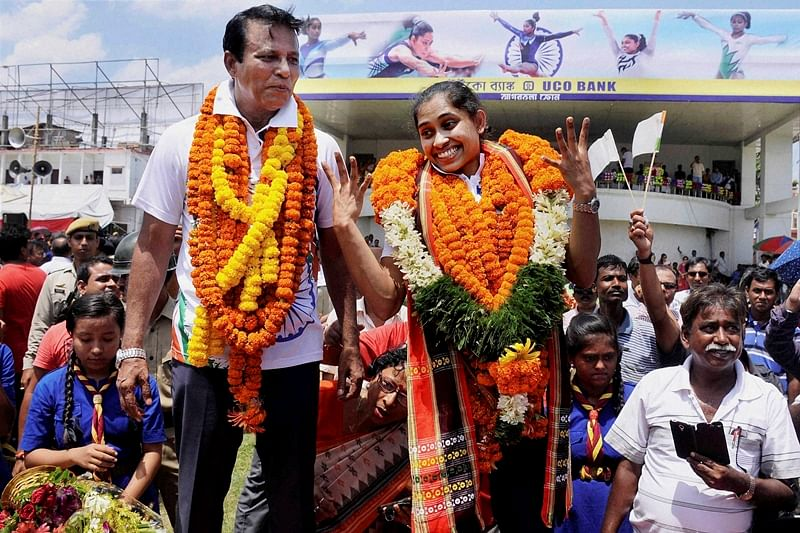 Indian coaches' just as good as foreign counterparts, says Dipa Karmakar's coach