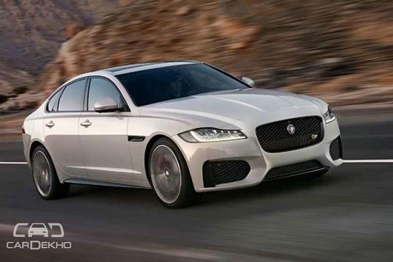 Updated Jaguar XF To Be Launched This Month
