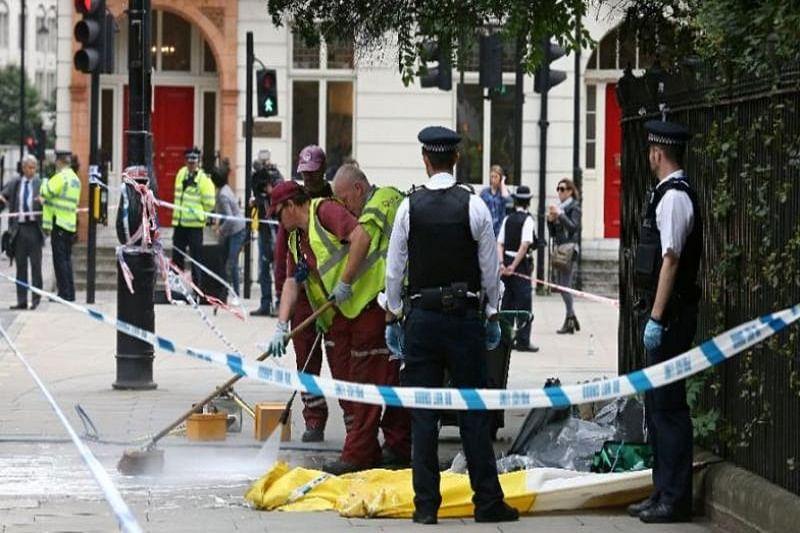 London knife attacker quiet, nice schoolboy