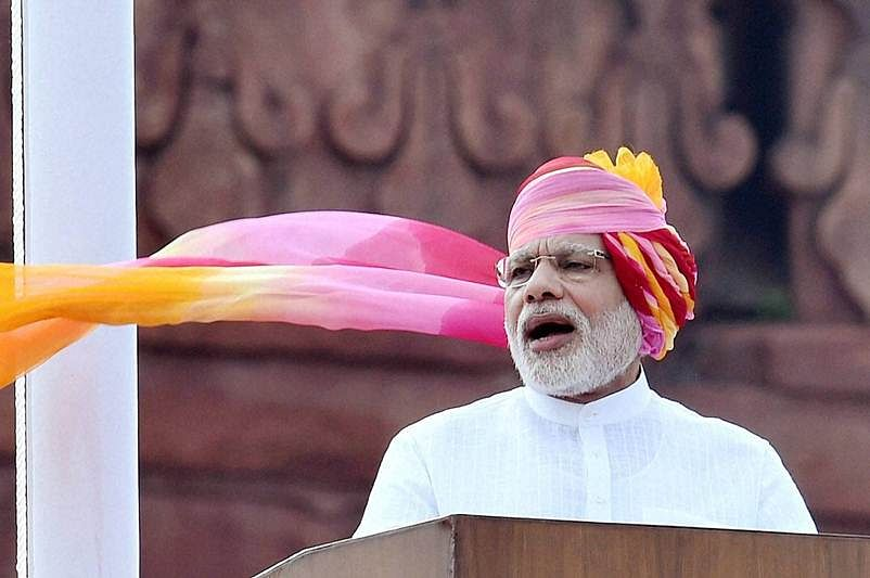 Red Fort heralds welcome change on Kashmir