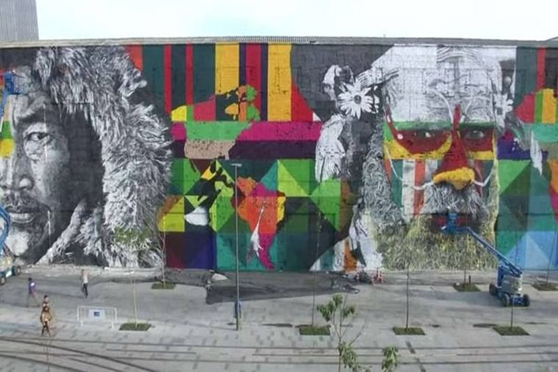 Rio Olympics inspired mural sets new Guinness World Record