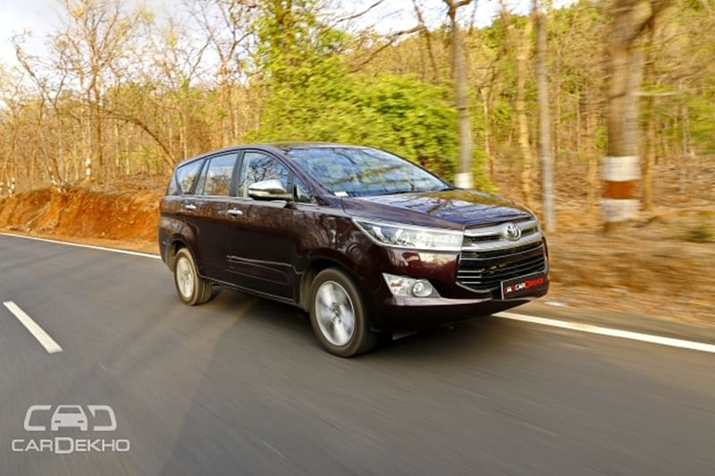 50 Per Cent Of Innova Crysta Buyers Opt For The Automatic